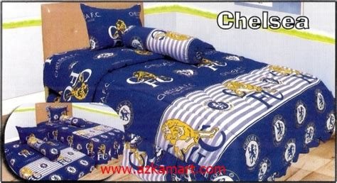 Harga Sprei Merk Chelsea sprei chelsea sprei dan selimut motif bola