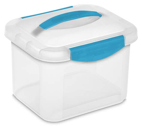 small storage container sterilite 1892 small showoffs storage container