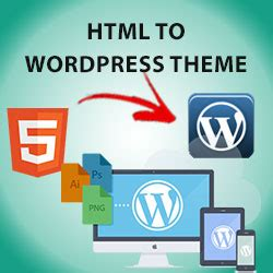 convert html template to theme converter html to website theme template
