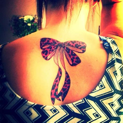 leopard print bow tattoo designs 29 best images about leopard bow on