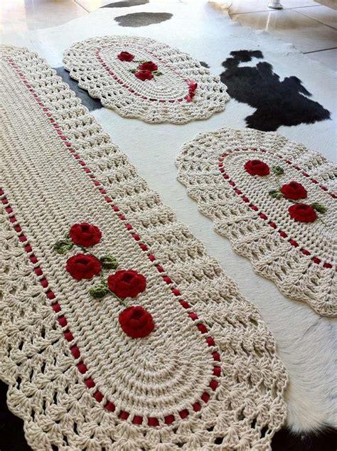Buy Kitchen Island by Tapete Jogo De Cozinha De Croche Com Aplica 231 Ao De Flores