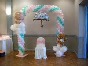 balloon arch for a baby shower baby shower