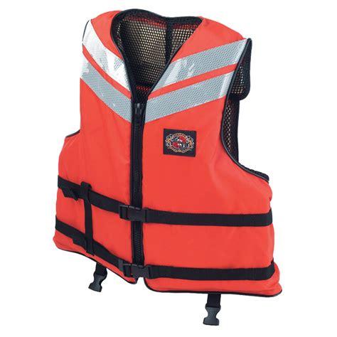 comfortable life vest stearns quot work boat quot flotation life jacket west marine
