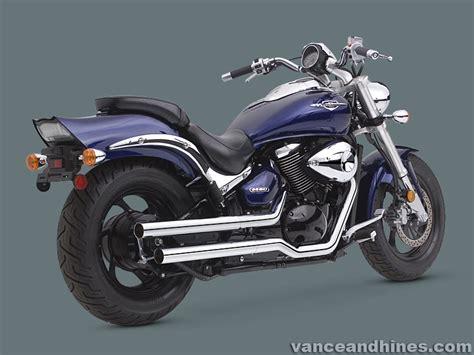 Suzuki Vl800 Exhaust Suzuki Vl800 Exhaust C50 C800 Straightshots Vance And