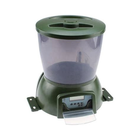 Pond Feeders Automatic pisces automatic koi pond fish feeder