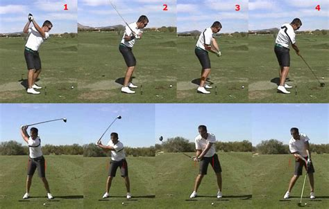 real golf swing backswing