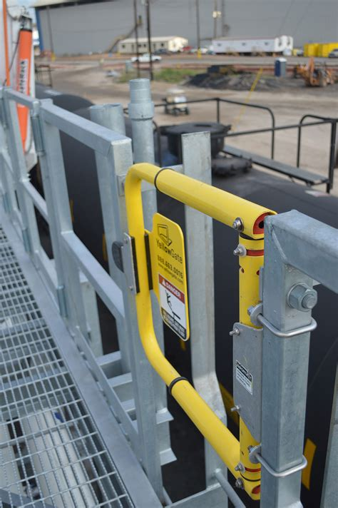 industrial swing gate yellowgate applications safety science