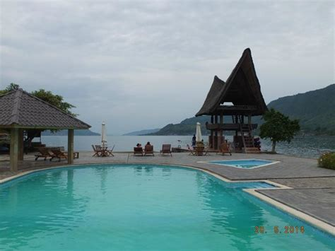 Tabo Cottages by Swimming Pool Tabo Cottage With A View Of Lake Toba