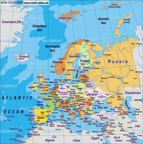 printable road map of europe free printable road map