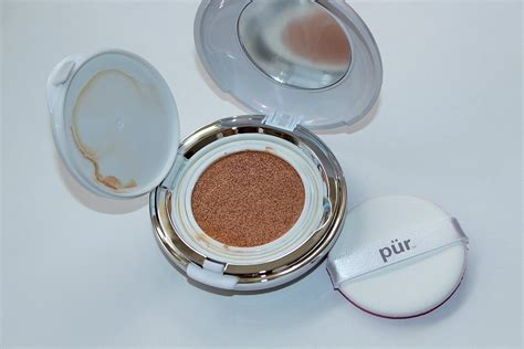 Air Cushion Foundation Dewy Finish pur air perfection cc cushion foundation review swatch