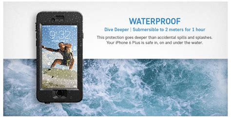 Anti Air Water Proof Richbox Iphone 6g 5 5 Iphone 6 Plus lifeproof fr苴 iphone 6 gov t discount govx