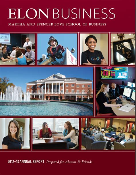 Elon Professional Mba by Annual Reports School Of Business