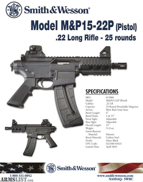 ar 15 fully automatic 22 caliber conversion armslist for sale smith wesson m p 15 22 ar pistol