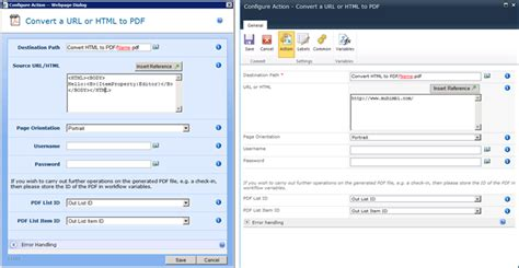 sharepoint workflow convert to pdf convert html to pdf using nintex workflow and the pdf