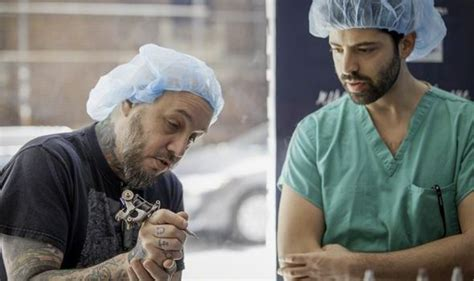 doctors with tattoos warning graphic content stunning snaps show doctors