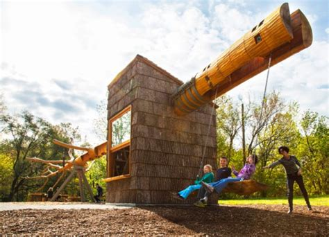 coolest swing sets 50 impossibly cool swing set ups for your home