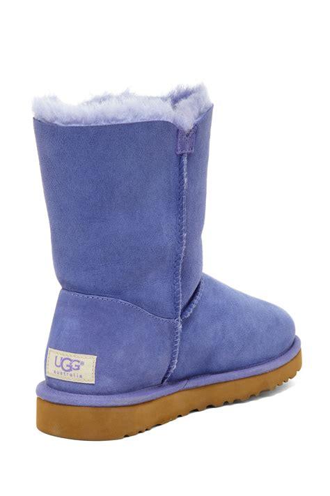 ugg australia bailey button genuine sheepskin boot