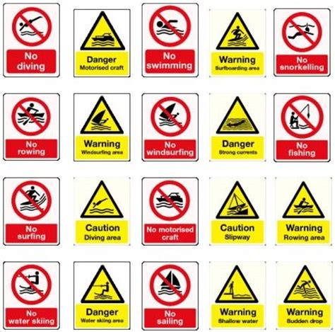 alive: safety signs  important for business