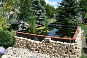 How Much Does Backyard Landscaping Cost New Guy Building Pond In Louisville Kentucky Garden Pond