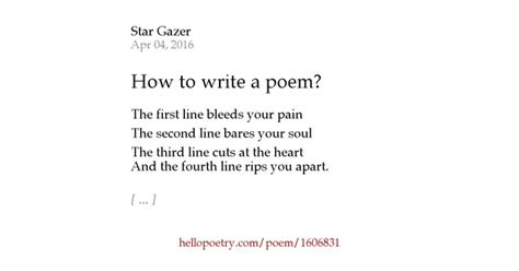 how to write a poem 28 images how to write a poem