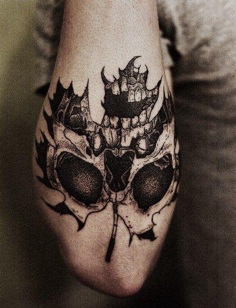 pinterest tattoo leaves skull forearm tattoo pinterest tattoo designs