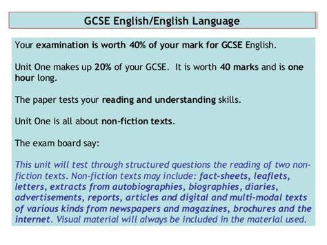 layout features gcse english wjec gcse exam prep higher paper unit 1