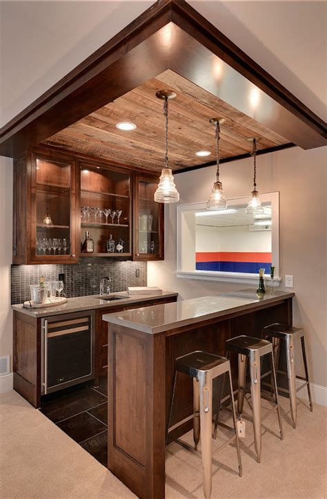 Home Basement Bar 25 Contemporary Home Bar Design Ideas Evercoolhomes