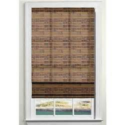 Lowes Bamboo Roman Shades - custom size now by levolor light filtering bamboo natural roman shade lowe s canada
