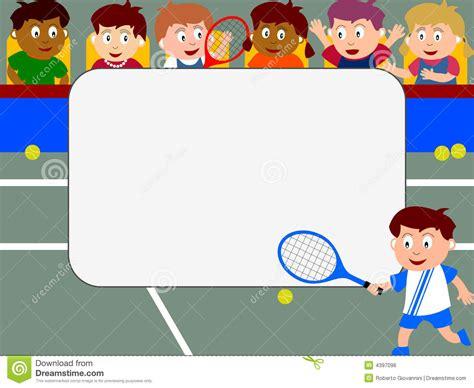 Kacamata Tenis Sport Frame Glasses photo frame tennis stock illustration image of draw 4397096