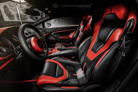 lamborghini gallardo interni carlex design creates stunning gallardo interior carlex