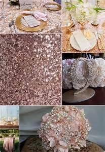 Rose gold wedding inspiration dream wedding design