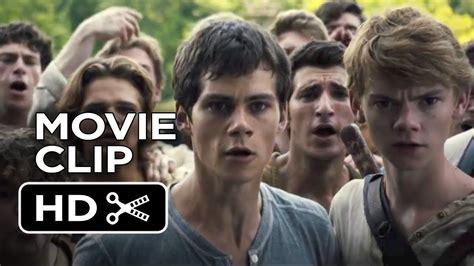 film maze runner kaskus the maze runner movie clip good job 2014 dylan o