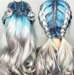 colorful hairstyles 17 beste afbeeldingen braided hairstyles op