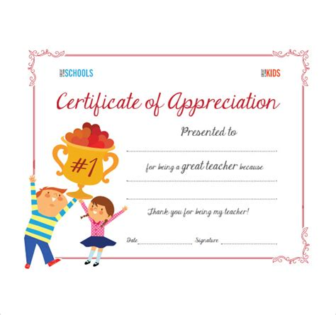 certificate of thanks template sle thank you certificate template 10 documents