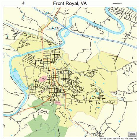 royal virginia front royal virginia map 5129968
