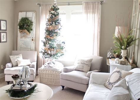 white and silver living room top white christmas decorations ideas christmas celebration