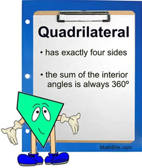 quadrilateral family properties mathbitsnotebook(geo