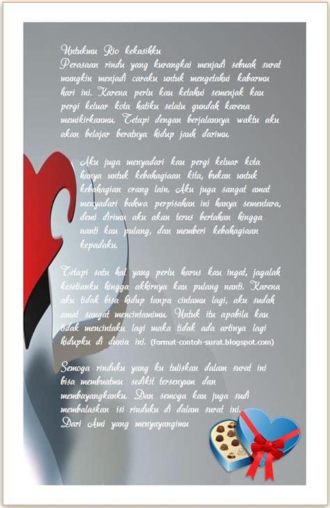 Contoh Surat Cinta by Surat Cinta Romantis Untuk Cowok