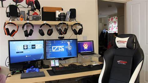 gaming setup ps4 my gaming setup my pc xbox one ps4 more summer 2014