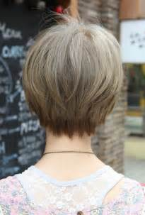 back and front views of wedge hairstyle pictures back view of short hairstyles