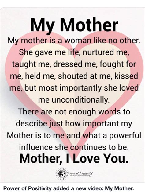 biography of my mother my mother was the best of the best so miss her but she is