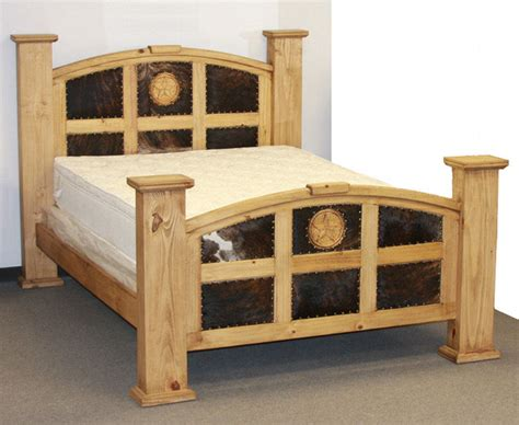 cowhide beds cowhide bed rick s home store