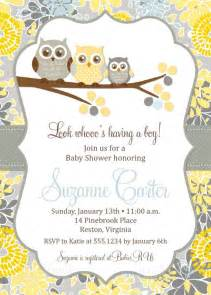 owl baby shower invitations diy printable baby boy shower invitatio