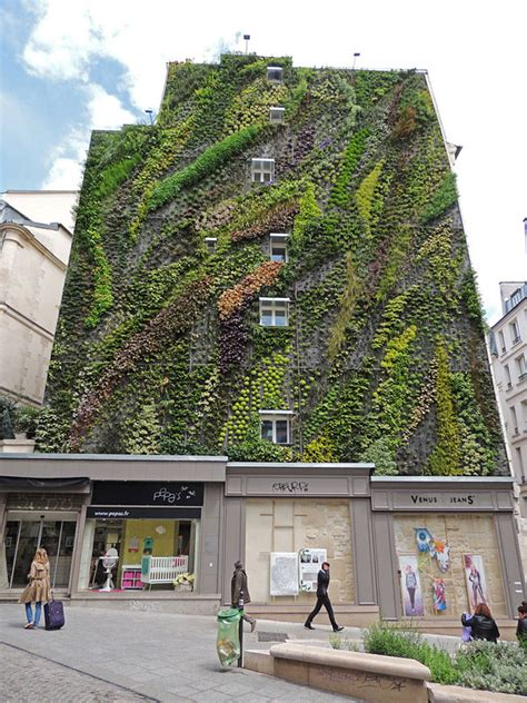Vertical Garden Building Stunning Vertical Garden Decorates Building In 7