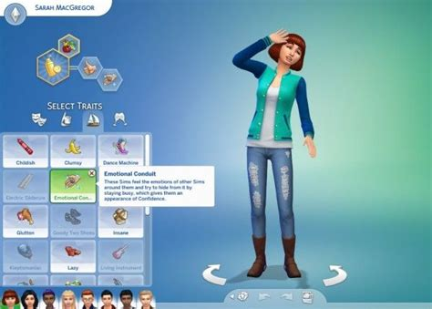 mod the sims robot traits 5 flavors mod the sims 8 pack of exclusive traits by cardtaken sims 4 downloads sims 4 mods