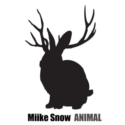 animal mike snow mike snow animal by downtown records free listening on