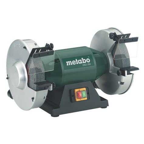 metabo bench grinder metabo bench grinder 900w 415v dsd250 sanding