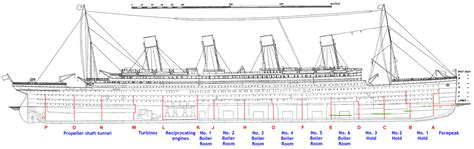 titanic floor plan titanic on pinterest rms titanic decks and ships