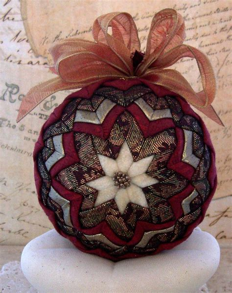 25 best ideas about quilted ornaments on pinterest