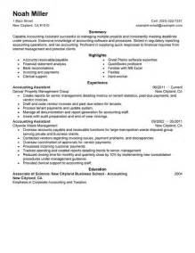 best accounting assistant resume exle livecareer junior accounts assistant resume sales assistant lewesmr